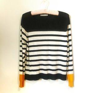 Zara | Striped Long Sleeve Knit